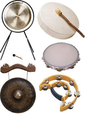 Percussion: Tambourine, Hong (selected images)