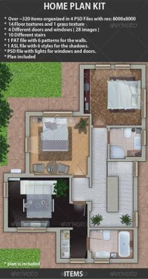Home Plan Kit 256048