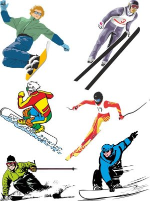 Winter Sports (selection vector)