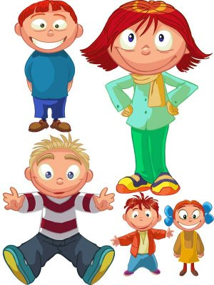 A selection of children vector (part two)