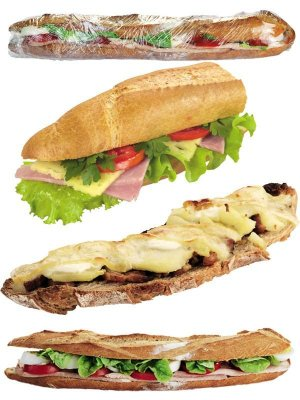 Mega - sandwich (collection of images)