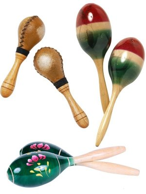 Musical Instruments: Maracas and Shakers