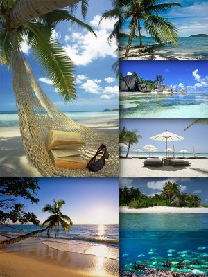 Exotic beaches (the images) The second part