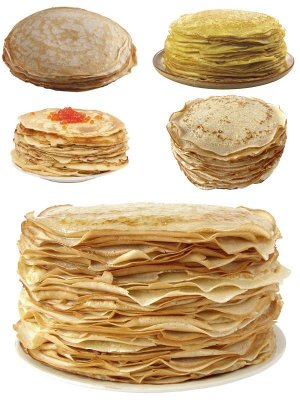 Stack of pancakes (the images)