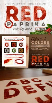 Red Paprika - Creative Lettering