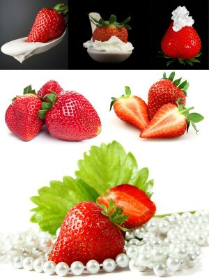 Berries: Strawberry Flavored