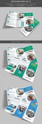 Trifold brochure volume 01