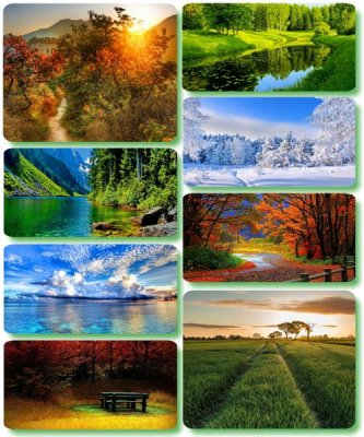 Picturesque scenery - Wallpapers with photos of nature (album 128)