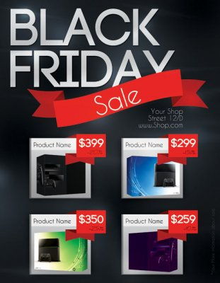 Blackfriday flyer