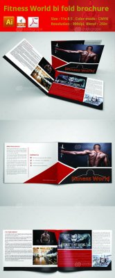 Fitness world bifold brochure