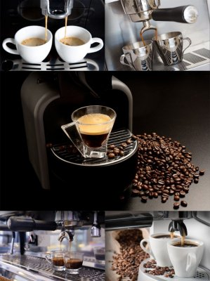 Coffee and coffee makers (the images)