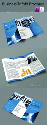 Business tri-fold brochure 5438