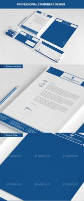 Global corporation stationery