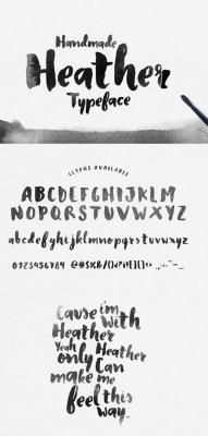 Heather Typeface font