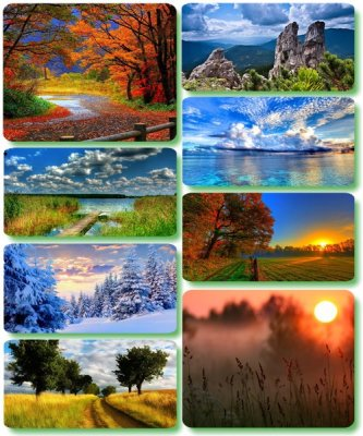 Picturesque scenery - Wallpapers with photos of nature (album 146)