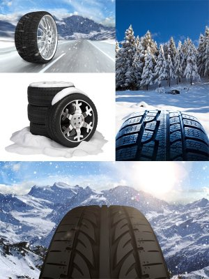 Winter tires (the images)