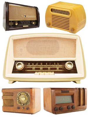 Vintage radios (the images)
