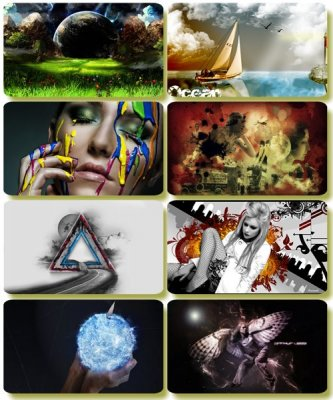 Collection of creative wallpapers - Art images (part 59)