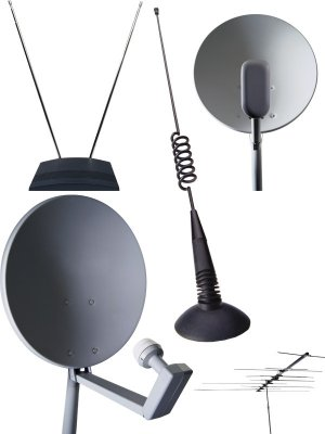 Antenna: Satellite, meter, decimeter, automotive